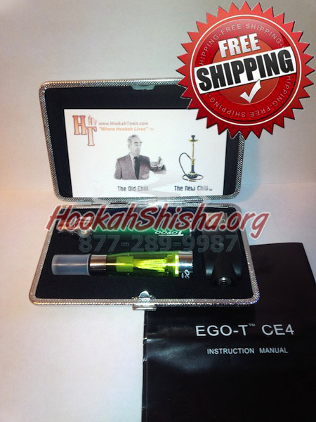 Rechargeable Refillable Hookah Stick With Charger + Case