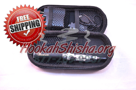 Refillable Hookah Pen: Bastone Mini Zipper Case CE5 650 MAH Battery