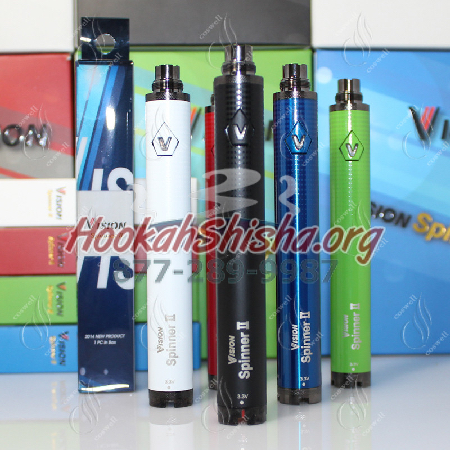 Vision Spinner 2 : Variable Voltage Vape Pen Battery : 1600 Mah