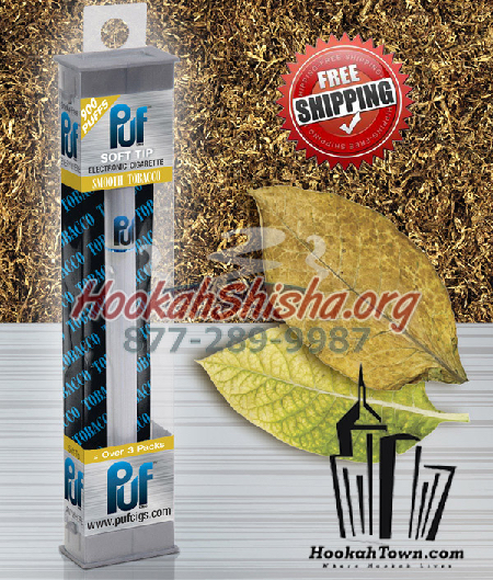 Smooth flavor: Puf Soft Tip: Portable Hookah Stick: 900 Puffs