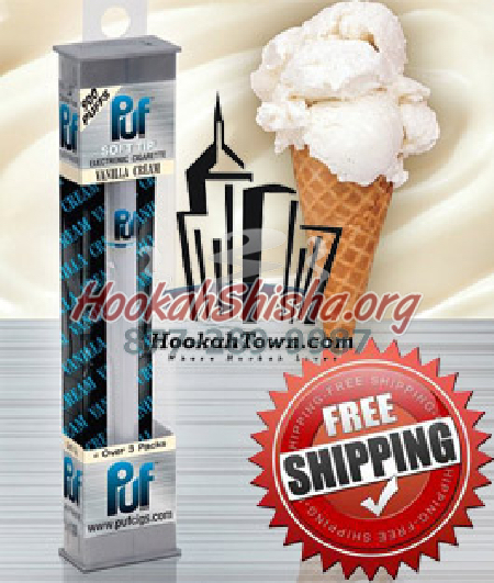 Vanilla Cream: Puf Soft Tip Portable Hookah Stick: 900 Puffs